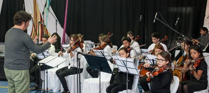 La Escuela Nuevo Horizonte  en el Festival de la Voz EducaUC