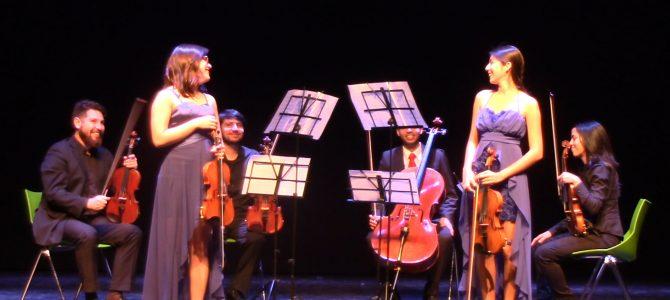 Dúo de violines para música de Vivaldi