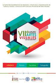 VII  CONCURSO PROVINCIAL DE ARTES  VISUALES 2017