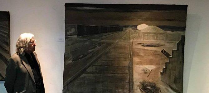 Fue inaugurada Historia de un cardo: exposición del pintor painino Jorge López Bozo.
