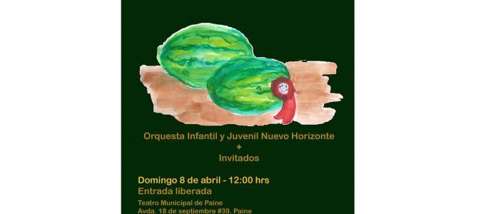 Invitación al Concierto Dominical de abril