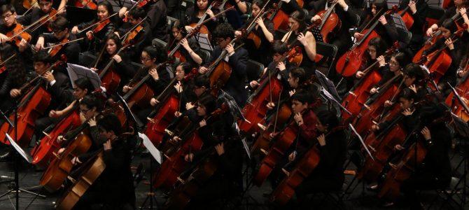 Concierto de clausura del Encuentro Internacional de Orquestas Juveniles e Infantiles Región del Biobío