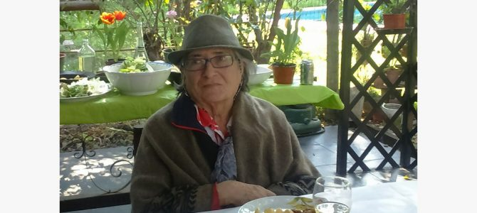Recordamos a María Cristina Cruz Icaza