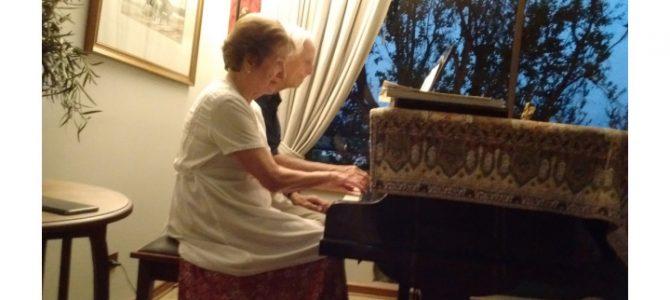 Recital de piano a cuatro manos en el Palacio Rioja de Viña del Mar