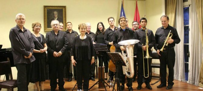 Ensamble Bartok – Conferencia y concierto con obras de compositores emigrados a Chile