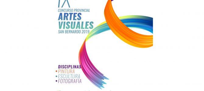 Bases del IX Concurso Provincial de Artes Visuales – San Bernardo 2019