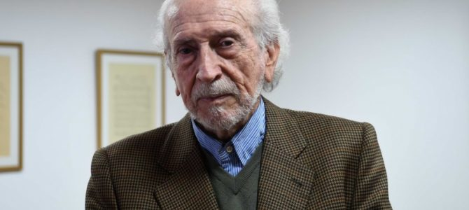 Entrevista a Marcos García de la Huerta, Premio Nacional de Humanidades.